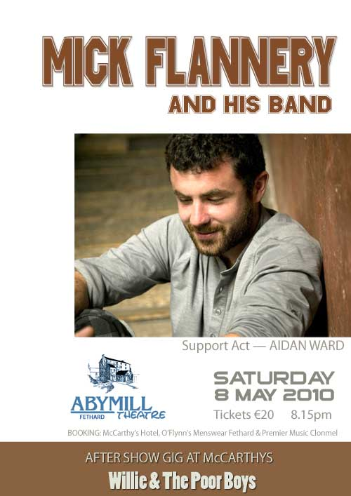 Mick Flannery Poster