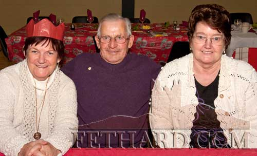 Photographed at the Moyglass Christmas Party in their new Community Hall. L to R: Mary McGinn Michael and Eileen Moloney