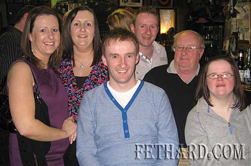 Celebrating New Year's Eve at McCarthy's are the O'Sullivan family, Perryville, Fethard L to R: Lisa, Denise, Liam, Paddy, Bill and Sheila.