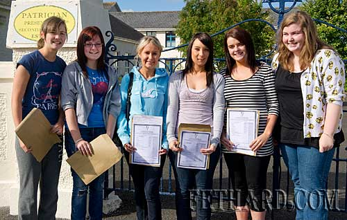 Delighted with their Leaving Cert results at Fethard Patrician Presentation Secondary School are L to R: Aisling Dwyer, Katie Coen, Sarah O'Meara, Niamh Fanning, Melissa Wallace and Gráinne Horan