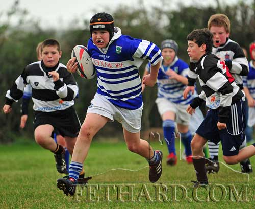 In the Under 12s game, Ross McCormack was one of the stand-out players with a tally of four tries.