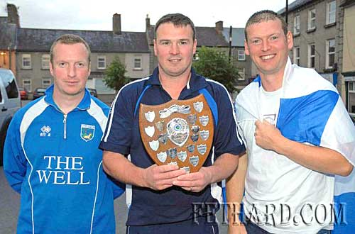 U16 County Football Champions Coaches, Jimmy O'Meara, Steven O'Donnell & Michael Quinlan