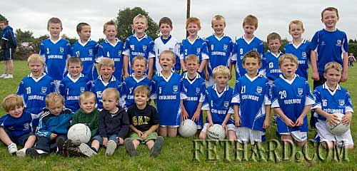 Fethard Under-8 football team who took part in the Danagher Cup competition at Fethard Community Family Field Day.