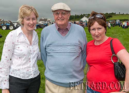 Coolmoyne and Moyglass Vintage Club Family Day L to R: Majella Walsh, Fr. Joe Walsh and Mairead Walsh
