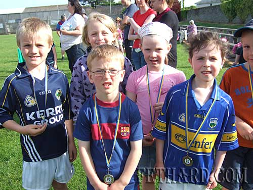 Group photographed at Fethard and Killusty Community Games athletics.