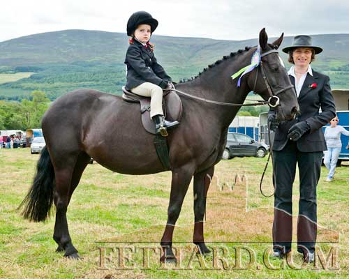 Patricia Lalor Annsfort Stud with Amelia Kearney on Annsfort Polly