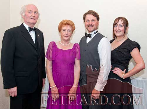 Dancing at Fethard Ballroom are L to R: Tony Marshall, Margaret Burke, Dave O'Gorman and Ruth Quinn.
