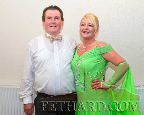Dancing at Fethard Ballroom are L to R: Richard Harty and Mary O'Neill