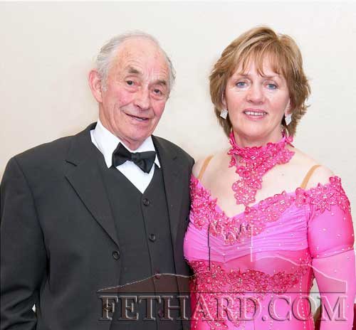 Photographed at Fethard Ballroom are Billy and Gertie Corcoran