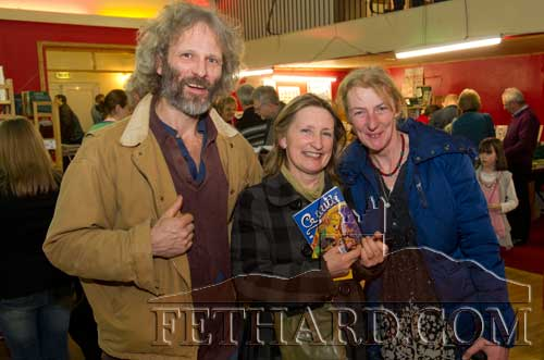 Photographed at the Tipperariana Book Fair in Fethard Ballroom are L to R: Peter Binder, Rita Kenny and Liz O'Brien.