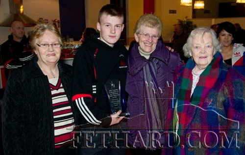 Photographed at the Fethard & Killusty Community Council presentation to Jack Connolly are L to R: Kathleen Connolly, Jack Connolly, Eileen Connolly and Kathleen Kenny