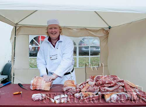 Clive Clarke, butchers, free range and for small holdings