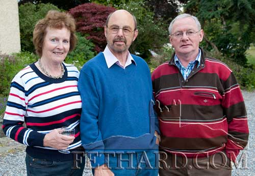 Photographed at the Clonacody Country House barbecue evening are L to R: Deirdre Marriott, Tony Marriott and Eamon Dwyer