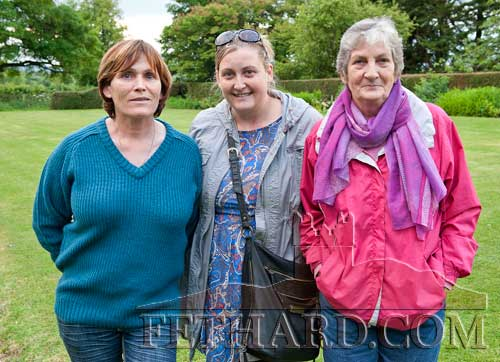 Photographed at the Clonacody Country House barbecue evening are L to R: Kathleen Burke, Marie Purcell and Connie Cuddihy