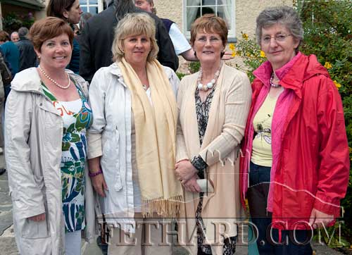 Photographed at the Clonacody Country House barbecue evening are L to R: Eileen Maher, Eileen Acheson, Angela Woodlock and Anne Horan