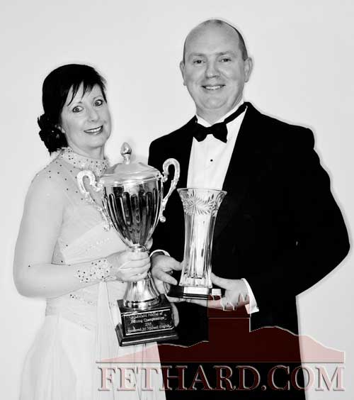 Marina Mullins & Pat Casey winners of the All Ireland Waltzing Championiships which were held in Gort, Co. Galway, on Saturday, October 22.
