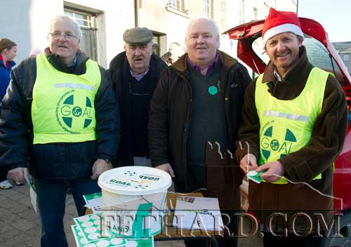 Organisers L to R: Waltie Moloney, Pat Carroll, Miceál McCormack and Colm McGrath.