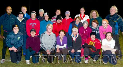 Athletes photographed at the Fethard Athletic Club's 'Fun and Run' training held in Fethard Community Field on Monday night