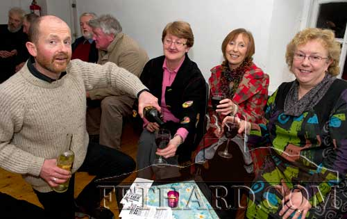 Photographed at the presentation of Fethard Historical Society's 'Tipperariana Book of the Year' were L to R:  Colm McGrath, Gemma Burke, Ruth Farrell and Margaret Newport.