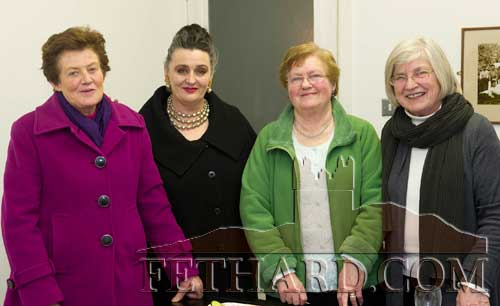 Photographed at the presentation of Fethard Historical Society's 'Tipperariana Book of the Year' were L to R: Diana Stokes, Pat Looby, Ann Gleeson and Ann Lynch.