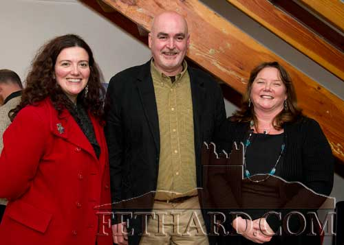 Photographed at the presentation of Fethard Historical Society's 'Tipperariana Book of the Year' were L to R: Labhaoise McKenna (Heritage Officer South Tipperary County Council), Frank Poyntz and Maura Barrett (manager Slieveardagh Rural Development Centre).