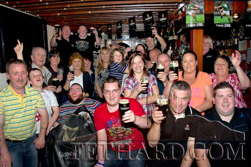 Celebrating 'Arthur's Day' at Lonergans Bar Fethard
