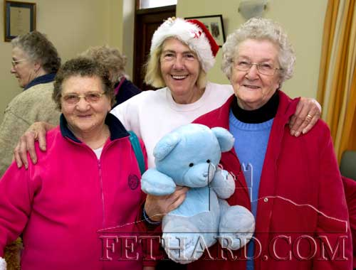 Helping at the Fethard Day Care Centre Christmas Bazaar are L to R: Mary Maher, Thelma Griffith and Maura Meagher