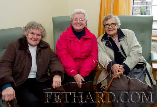Photographed at the Fethard Day Care Centre Christmas Bazaar are L to R: Joan Heffernan, Pauline Morrissey and Molly Cleary