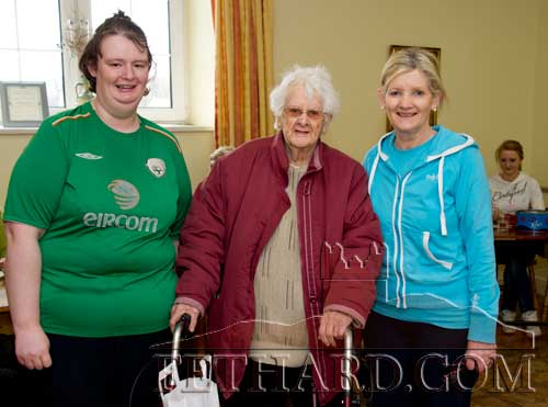 Photographed at the Fethard Day Care Centre Christmas Bazaar are L to R: Ann Marie Needham, Maggie Sayers and Geraldine McCarthy