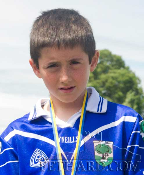 Ben Coen who competes in the boys under-10 100m on Saturday, August 20