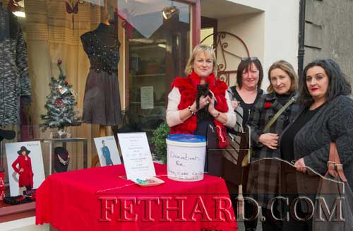 Photographed at the Jaruso's new Pop Up Boutique on Main Street Fethard where a 'Diamond Party' was held on Sunday afternoon with proceeds going to Fethard & District Day Care Centre L to R: Geraldine Donohoe, Anne Butler, Rita Kenny and Pat Looby.