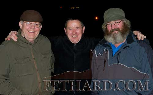 Photographed at the Christmas Carol Service at Holy Trinity Church of Ireland are L to R: Jim Fogarty, Joe Keane and Eamonn Keane.