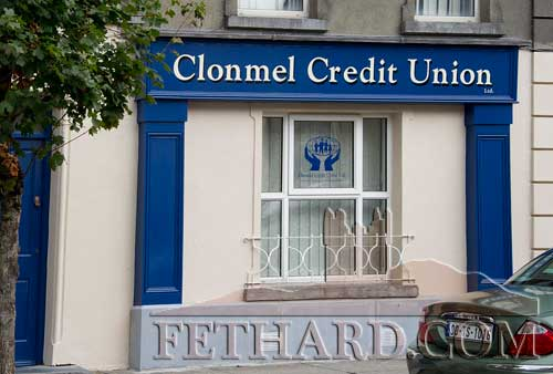 Fethard's new Credit Union shopfront on Main Street