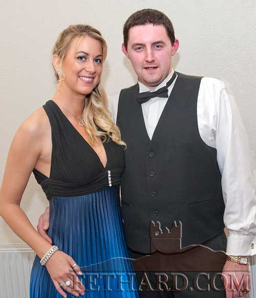 Claire O'Keeffe and Daniel Casey photographed at Fethard Ballroom