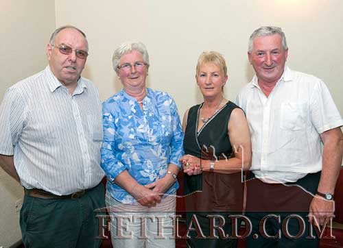 Photographed at Fethard Ballroom are L to R: Michael Keeley, Ina Keyes, Carmel and Mattie Boyle