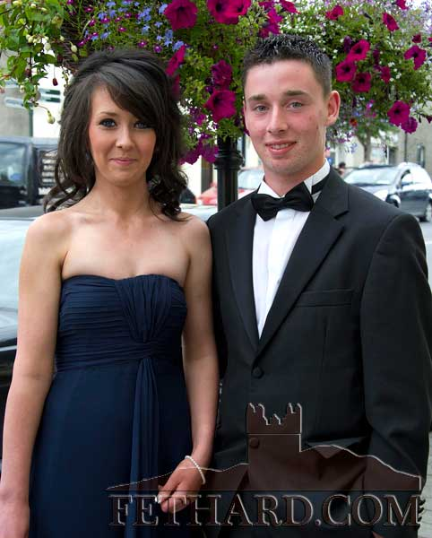 Photographed on their way to Fethard Patrician Presentation Secondary School Debs are Emma Hayes and Andrew Maher