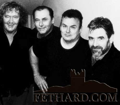 The Fayerweather Band from Waterford, who will play at this year's Fethard Town Wall Medieval Festival on Sunday afternoon, August 21 from 3pm to 5pm