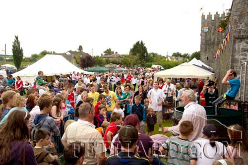 A section of the large crowd that attended Fethard Medieval Festival