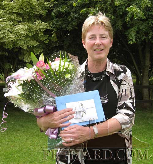 Maureen Maher, photographed on the ocassion of her retiring as vice-principal of Holy Trinity National School in Fethard