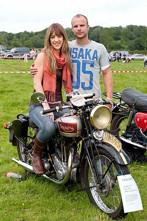 Suzanne Byrne and Gavin Aherne at Moyglass Vintage Day