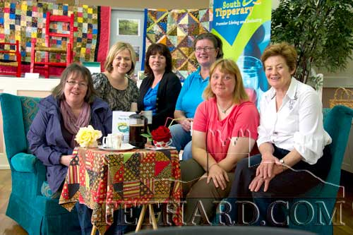 Photographed at the Pop-Up Cafe in Fethard L to R: Edwina Newport, Edel O'Gorman, Bernadette Stocksborough, Jenny Butler, Ann Barry and Diana Stokes.