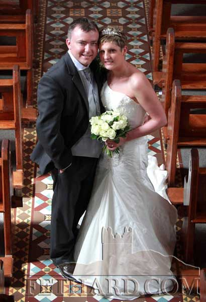 Cora O'Donnell, Slanestown, and Trevor O'Leary, Cork, who were married on Saturday, June 25