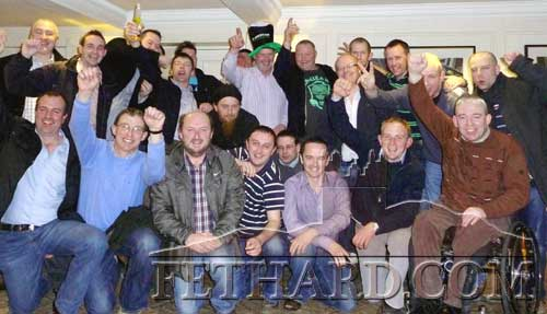 Pictured here are some of the official 'Harry Barry Stag Group' that travelled to Edinburgh during the recent St. Patrick's weekend. Harry (known to his Tullamaine family as Noel!) is due to be married to the lovely Pauline in October.