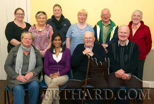 Committee members photographed at Fethard South Tipp Hospice Support Group's AGM held in the Tirry Centre, Fethard. Back L to R: Ellen O'Brien, Irene Sharpe, Samantha O'Brien, Claire Sullivan, Johnny Burke, Benny Tynan (chairman), Front L to R: Kathleen Coen (treasurer), Sinaida Jansen (South Tipp Hospice), Jim Bond (South Tipp Hospice) and Dinny Burke (secretary).