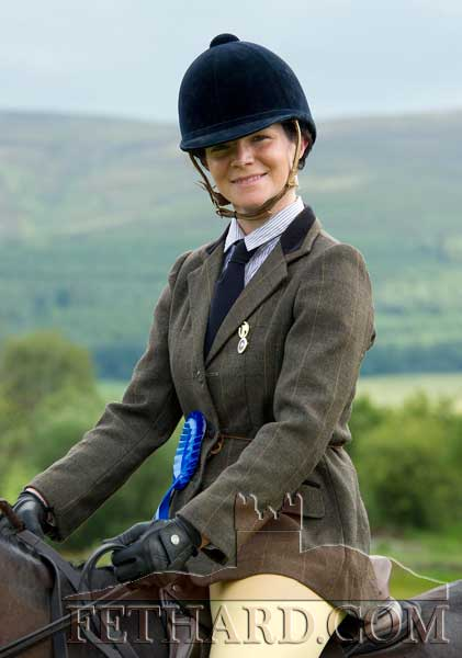 Lynda Nevin, Ballintemple, Fethard, photographed at Killusty Pony Show