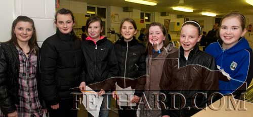Photographed at the Open Evening at Fethard Patrician Presentation Secondary School are L to R: Ciara Hayes, Amy Needham, Lesley Prendergast, Courtney Walsh, Lisa Mellerick, Sarah O'Donnell and Sadhbh Horan.