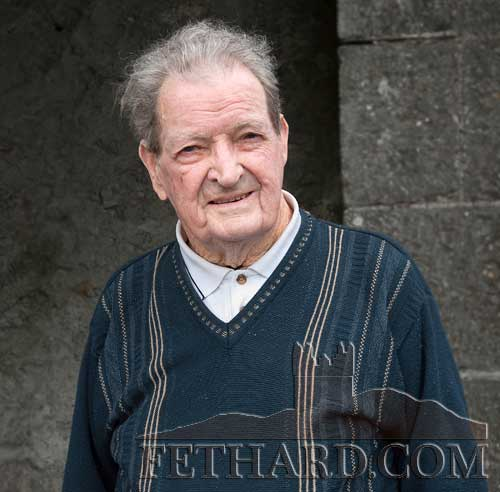 Jimmy Roche, Ballinard, Fethard, who celebrated his 90th birthday 0n the 27th August 2011 with family and friends in Cloneen.