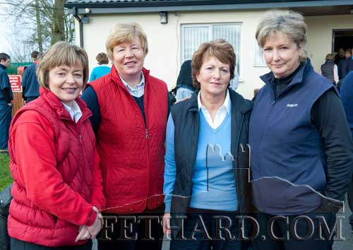 L to R: Breda Foley, Anne O'Dea, May O'Brien and Norma O'Brien at the Captain's Drive In at Slievenamon Golf Club