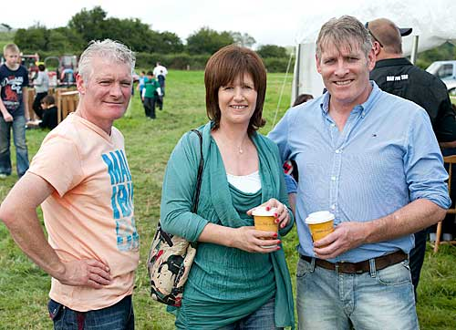 L to R: Paul, Margaret and Joe Gleeson at Moyglass Vintage Day