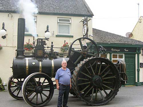 Fowler steam engine and